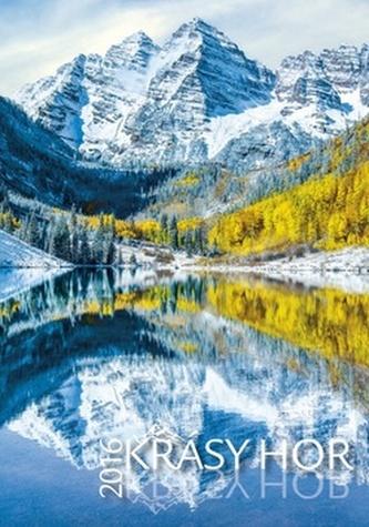 Krásy hor 2016 - nástěnný kalendář