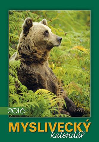 Myslivecký kalendář 2016 - nástěnný kalendář