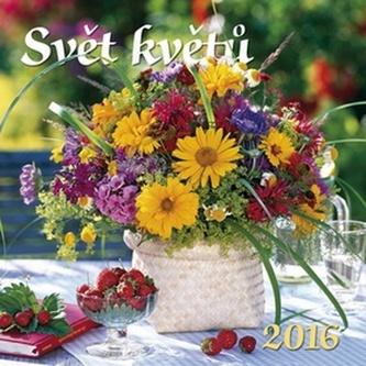 Svět květů 2016 - nástěnný kalendář