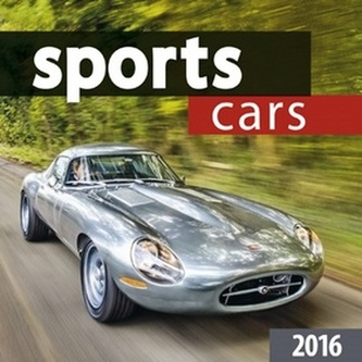 Sports cars 2016 - nástěnný kalendář