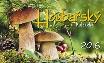 Houbařský kalendář 2016 - stolní kalendář