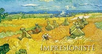 Impresionisté 2016 - stolní kalendář