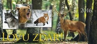 Lovu zdar 2016 - stolní kalendář