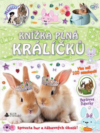Knížka plná králíčků - samolepky a figurky