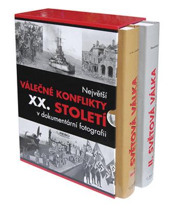 Největší válečné konflikty XX. století v dokumentární fotografii, I. a II. světová válka (2 knihy)