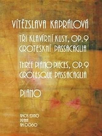 Tři klavírní kusy, op. 9