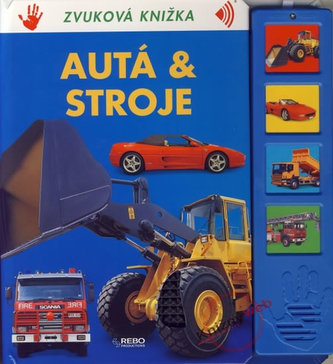 Autá a stroje - Zvuková knižka (slovensky)