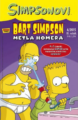 Bart Simpson Metla Homera