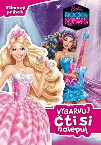 Barbie RocknRoyals - Filmový příběh - Vybarvuj, čti si, nalepuj
