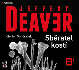 Sběratel kostí - CDmp3 (Čte Jan Vondráček) - Jeffery Deaver
