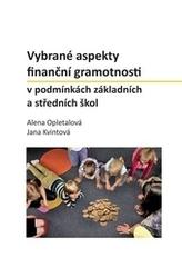 Vybrané aspekty finanční gramotnosti