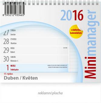 Minimanager - stolní kalendář 2016