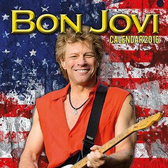 Kalendář nástěnný 2016 - BON JOVI