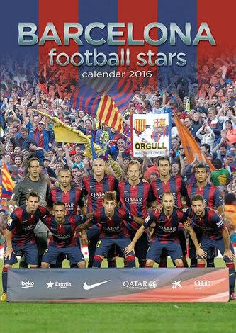 Kalendář nástěnný 2016 - BARCELONA