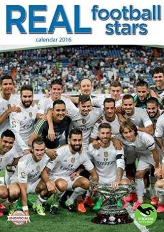 Kalendář nástěnný 2016 - REAL MADRID