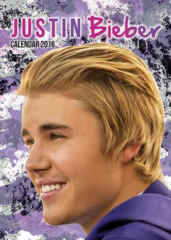 Kalendář nástěnný 2016 - JUSTIN BIEBER