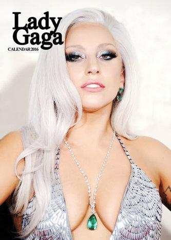 Kalendář nástěnný 2016 - LADY GAGA