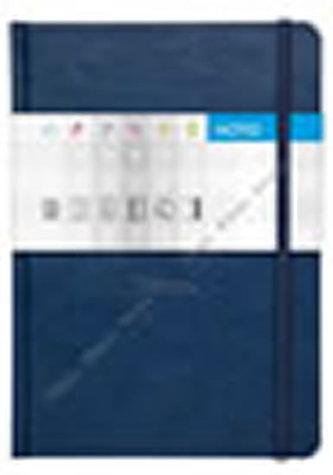 Notes Saturn modrý linkovaný A5