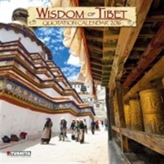 Nástěnný kalendář - Wisdom of Tibet 2016