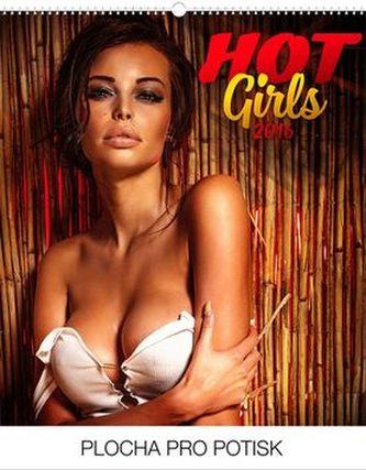 Hot Girls Praktik - nástěnný kalendář 2016