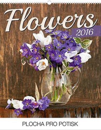 Květiny Praktik - nástěnný kalendář 2016