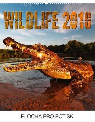 Wildlife Praktik - nástěnný kalendář 2016