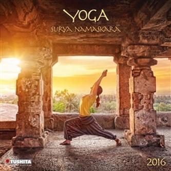 Nástěnný kalendář - Surya Namaskara 2016