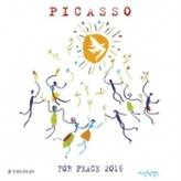 Nástěnný kalendář - Picasso War and Peace 2016