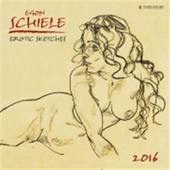 Nástěnný kalendář - Egon Schiele 2016