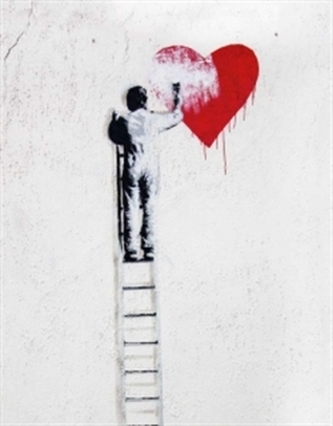 Zápisník - Follow your Heart - Streetart