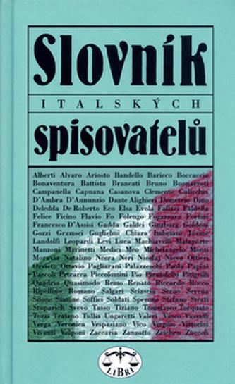 Slovník italských spisovatelů - Jiří Pelán