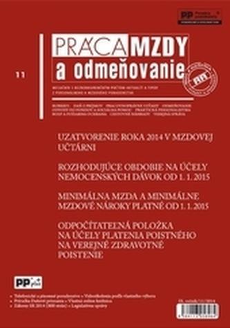 Práca, mzdy a odmeňovanie 11/2014
