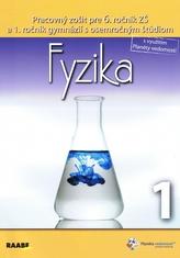 Fyzika pre 6. ročník 1. polrok