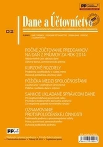 Dane a účtovníctvo 2/2015