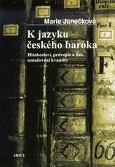 K jazyku českého baroka