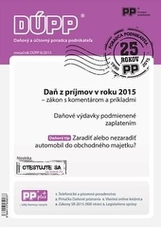 Daňový a účtovný poradca podnikateľa 8/2015