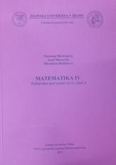 Matematika IV Počtovnica pre vysoké školy, časť 4