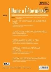 Dane a účtovníctvo 5/2015