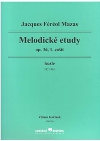 Melodické etudy, op. 36, 1. zošit