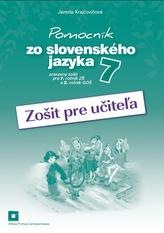 Pomocník zo slovenského jazyka 7 (zošit pre učiteľa)