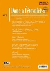 Dane a účtovníctvo 7/2015