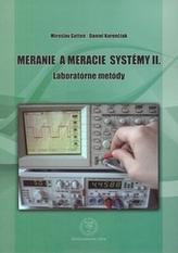 Meranie a meracie systémy II.
