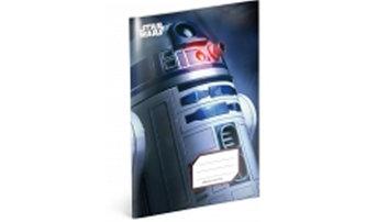 Sešit Star Wars R2-D2, 14,8 x 21 cm - neuveden