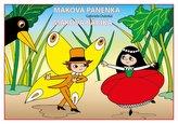 Maková panenka - omalovánka