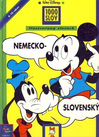 Nemecko-slovenský ilustrovaný slovník 1000 slov