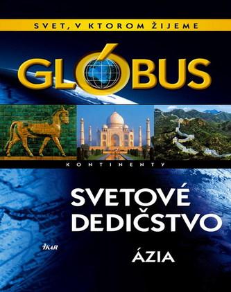 Glóbus - Svetové dedičstvo - Ázia