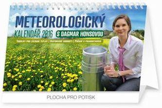 Meteorologický kalendář - stolní kalendář 2016