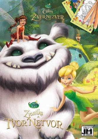 Disney Víly - Zvonilka - Tvor Netvor - Omalovánky A5