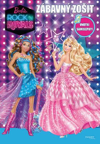 Barbie Rock n´ Royals Zábavný zošit