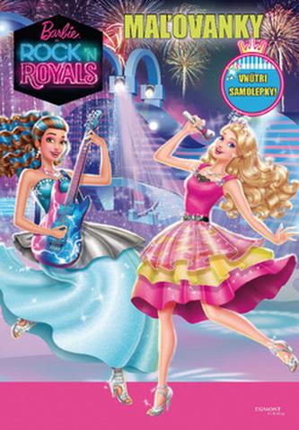 Barbie Rock n´ Royals Maľovanky